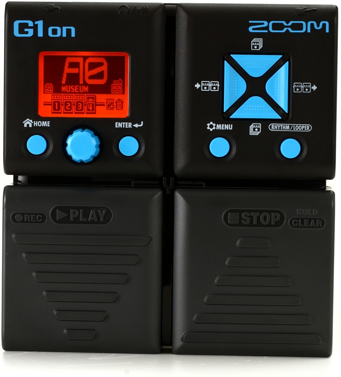 zoom g1on multi effects pedal. Black Bedroom Furniture Sets. Home Design Ideas