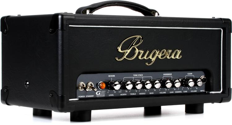 bugera g5 infinium tube amplifier head review by sweetwater sound. Black Bedroom Furniture Sets. Home Design Ideas