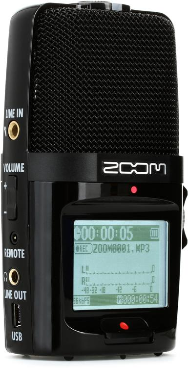 Zoom H2n Handy Recorder Sweetwater Com