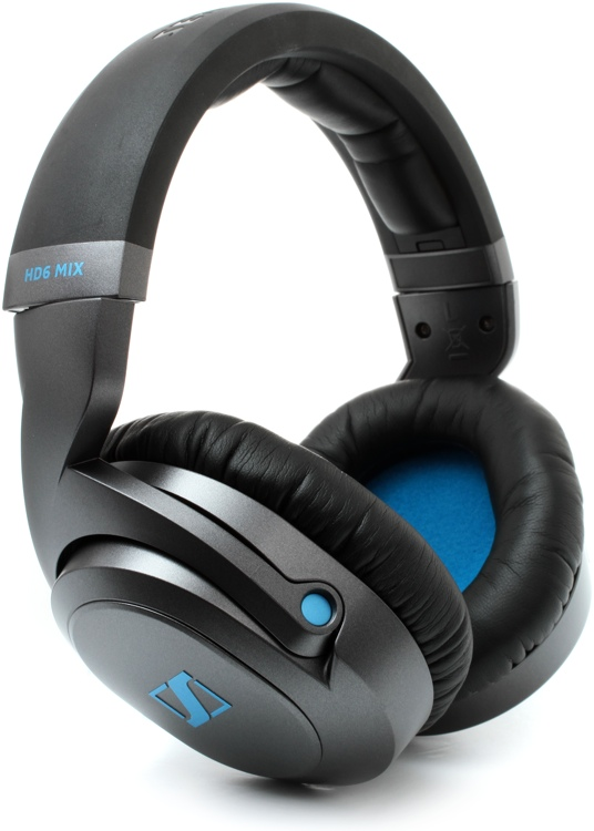 sennheiser hd6 mix closed back isolating mix studio headphones. Black Bedroom Furniture Sets. Home Design Ideas