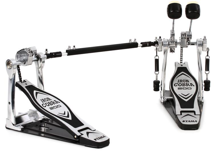tama iron cobra hp200ptw double bass pedal review sweetwater. Black Bedroom Furniture Sets. Home Design Ideas