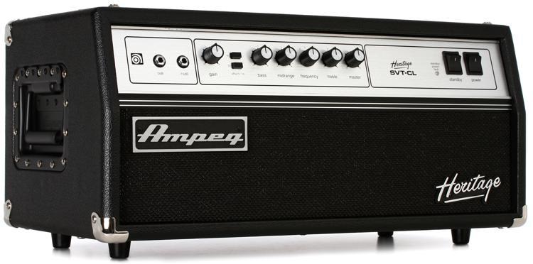 Ampeg Svt Heritage : ampeg heritage svt cl 300 watt tube bass head ~ Hamham.info Haus und Dekorationen
