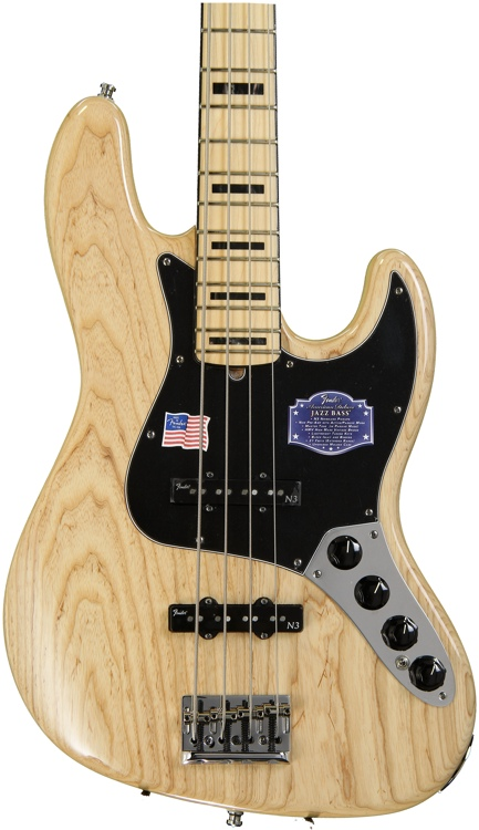 fender american deluxe jazz bass v 5 string electric bass musicstore. Black Bedroom Furniture Sets. Home Design Ideas