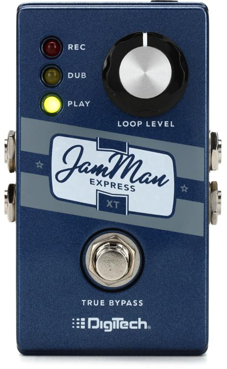 digitech jamman express xt phrase sampler looper pedal review by sweetwater sweetwater. Black Bedroom Furniture Sets. Home Design Ideas
