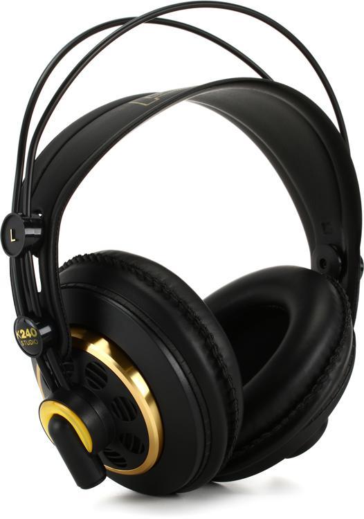Akg K240 Semi Open Pro Studio Headphones Sweetwater Com