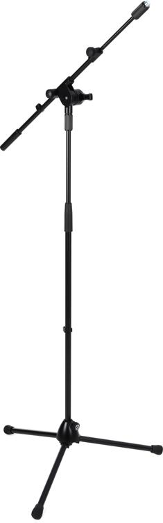 K Amp M 25600 Mic Stand With Telescoping Boom Sweetwater Com