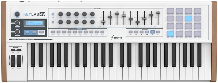 arturia keylab 49 controller with analog lab 2 software. Black Bedroom Furniture Sets. Home Design Ideas