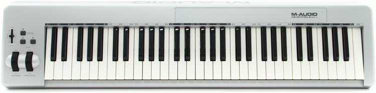 m audio keystation 61es 61 key midi controller. Black Bedroom Furniture Sets. Home Design Ideas