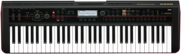 korg kross 61 key synthesizer workstation. Black Bedroom Furniture Sets. Home Design Ideas