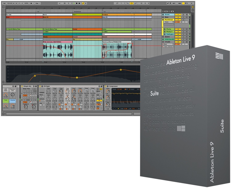 ableton live 9 suite educational site license 25 seats per seat download. Black Bedroom Furniture Sets. Home Design Ideas