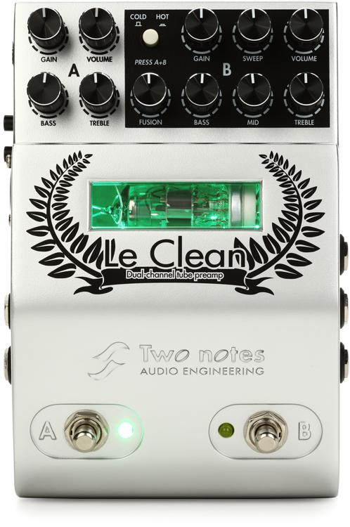 Guitar Effects Before Or After Preamp : two notes le clean 2 channel tube preamp ~ Russianpoet.info Haus und Dekorationen