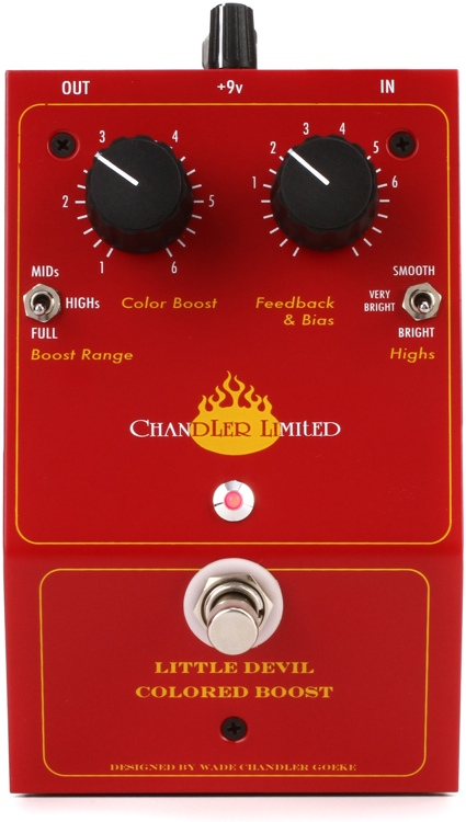 Chandler Limited Little Devil Colored Boost Distortion
