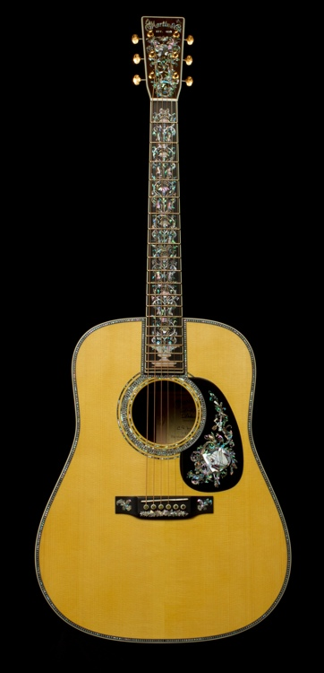 Martin D-100 Deluxe #47 Acoustic Guitar Review by ...