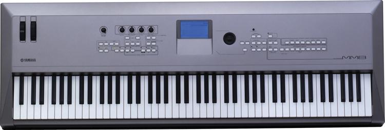 yamaha mm8 88 key synthesizer. Black Bedroom Furniture Sets. Home Design Ideas