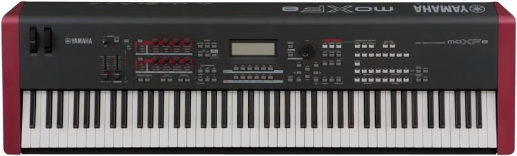 Yamaha Moxf8 88 Key Synthesizer Workstation Sweetwater Com