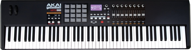 Close-up image | Akai Professional MPK88