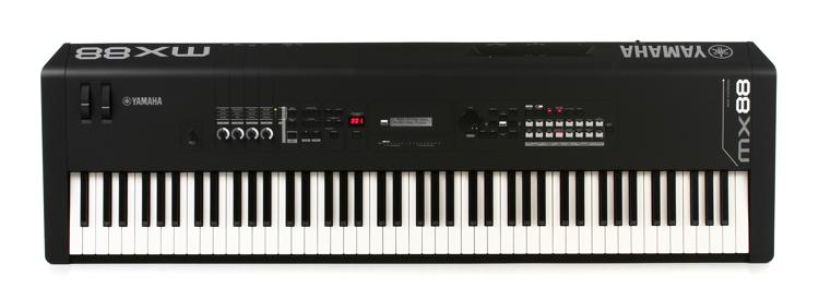 Yamaha mx88 synthesizer demo insync sweetwater for Yamaha mx88 for sale