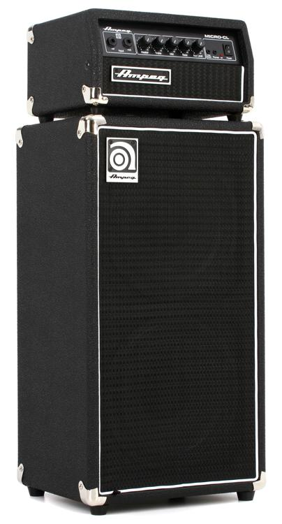 ampeg micro cl 2x10 100 watt bass stack. Black Bedroom Furniture Sets. Home Design Ideas
