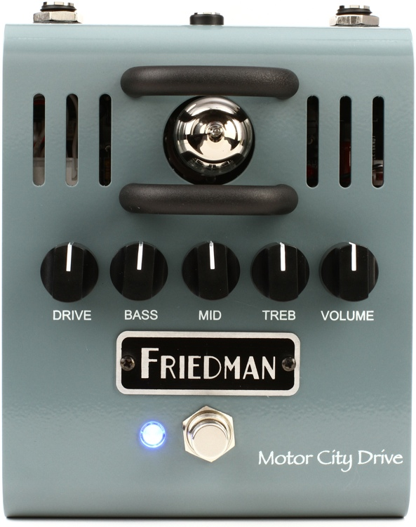 friedman motor city drive tube overdrive pedal review