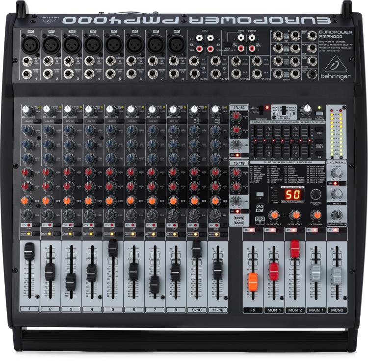 Behringer Europower PMP4000 | Sweetwater.com