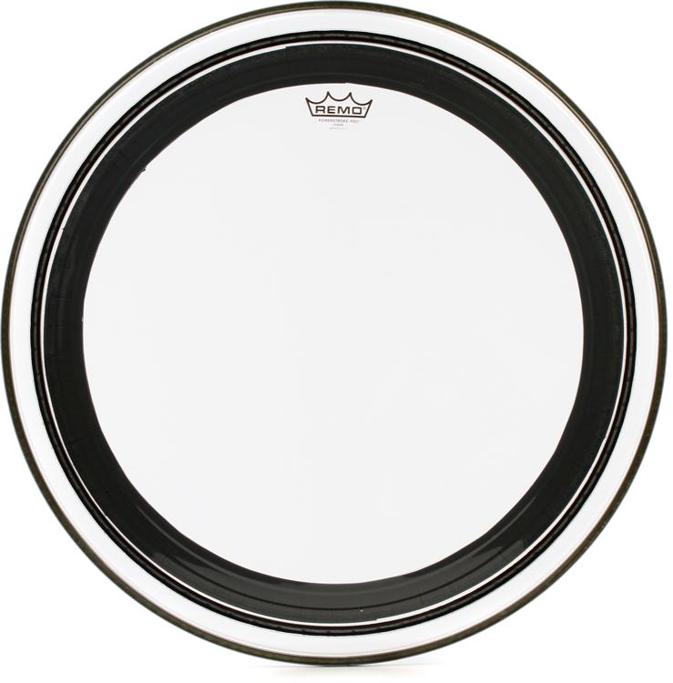 remo powerstroke pro clear bass drum head 24. Black Bedroom Furniture Sets. Home Design Ideas