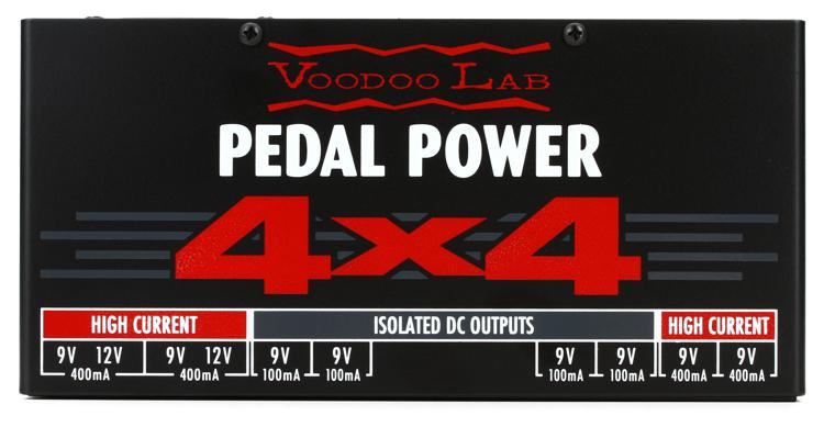 Voodoo Lab Pedal Power 4x4 Sweetwater Com