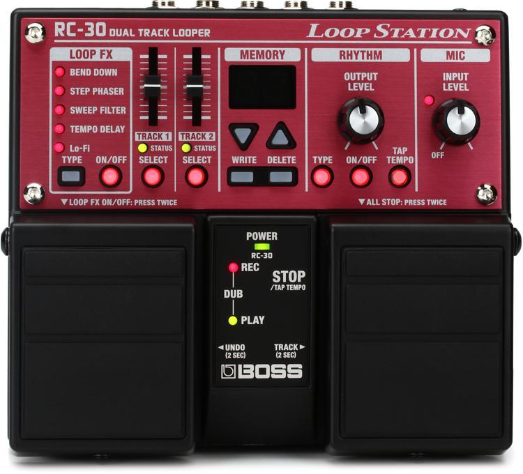 Boss Rc 30 Phrase Looper Sweetwater Com