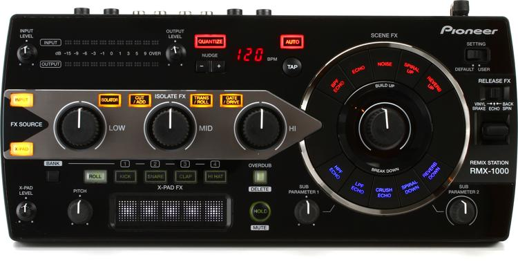 pioneer dj rmx 1000 performance effects system. Black Bedroom Furniture Sets. Home Design Ideas