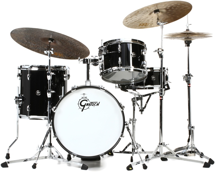 Gretsch Drums Renown 3 Piece Jazz Shell Pack Piano Black