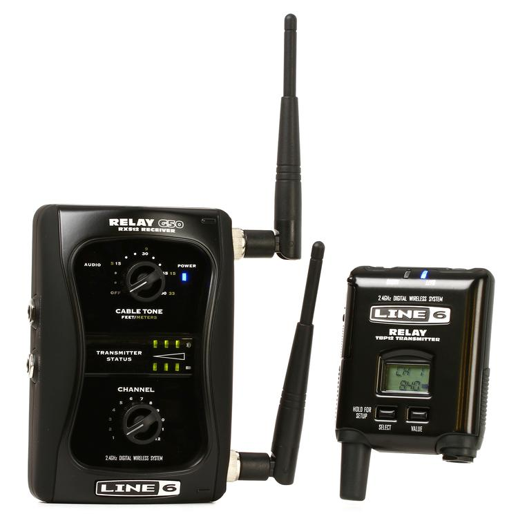 Relayg Large on Line 6 Wireless Guitar System