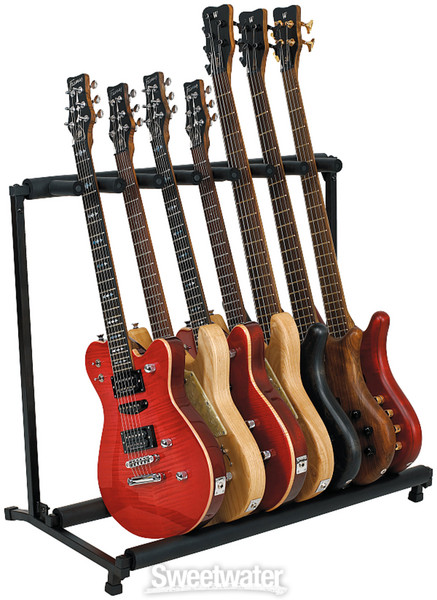rockstand flat pack multiple 7 instrument stand. Black Bedroom Furniture Sets. Home Design Ideas