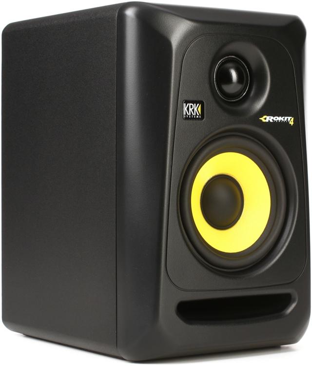 krk rokit 4 g3 4 active studio monitor. Black Bedroom Furniture Sets. Home Design Ideas