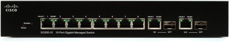 Cisco Sg300 10 Ethernet Switch Sweetwater Com