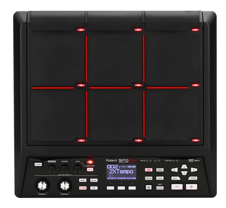 Immediate Credit Card >> Roland SPD-SX Sampling Percussion Pad | Sweetwater.com