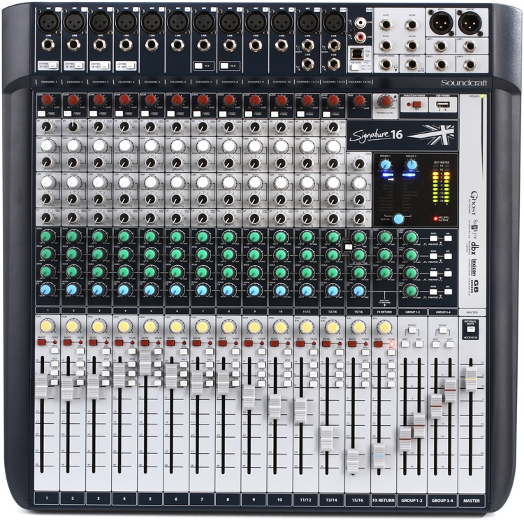 Soundcraft Signature 16 Sweetwater Com