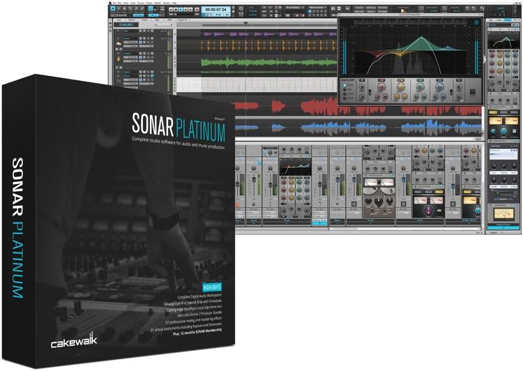 Cakewalk SONAR Platinum | Sweetwater.com