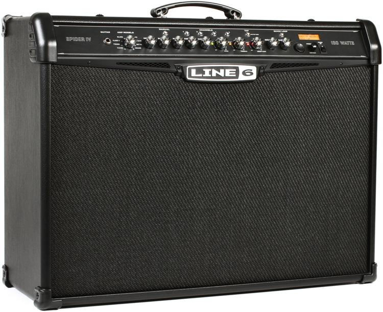 line 6 spider iv 150 modeling 150w 2x12 guitar combo amp. Black Bedroom Furniture Sets. Home Design Ideas