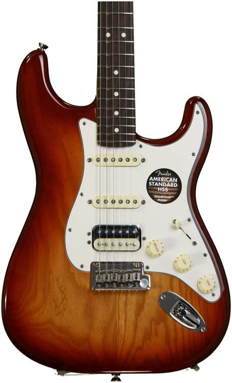 fender american standard stratocaster hss shawbucker guitar review by. Black Bedroom Furniture Sets. Home Design Ideas