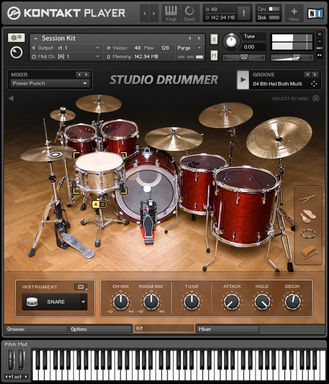 pc drums