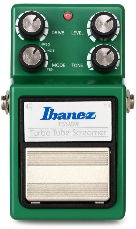 Ibanez Ts9dx Turbo Tube Screamer Overdrive Sweetwater Com