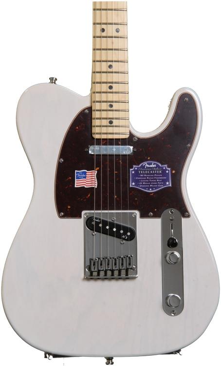 Fender American Deluxe Ash Telecaster - White Blonde ...