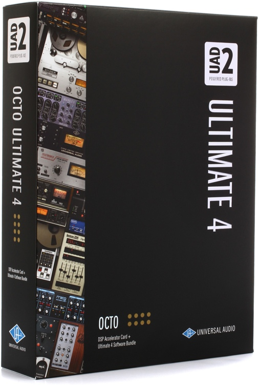 universal audio uad 2 octo ultimate 4 pcie dsp accelerator. Black Bedroom Furniture Sets. Home Design Ideas