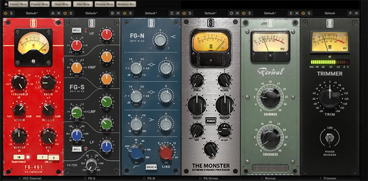 Slate Digital VMR Virtual Mix Rack Plug-in Bundle ...