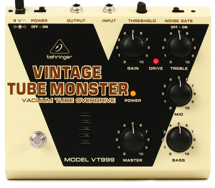 behringer vintage tube monster vt999. Black Bedroom Furniture Sets. Home Design Ideas