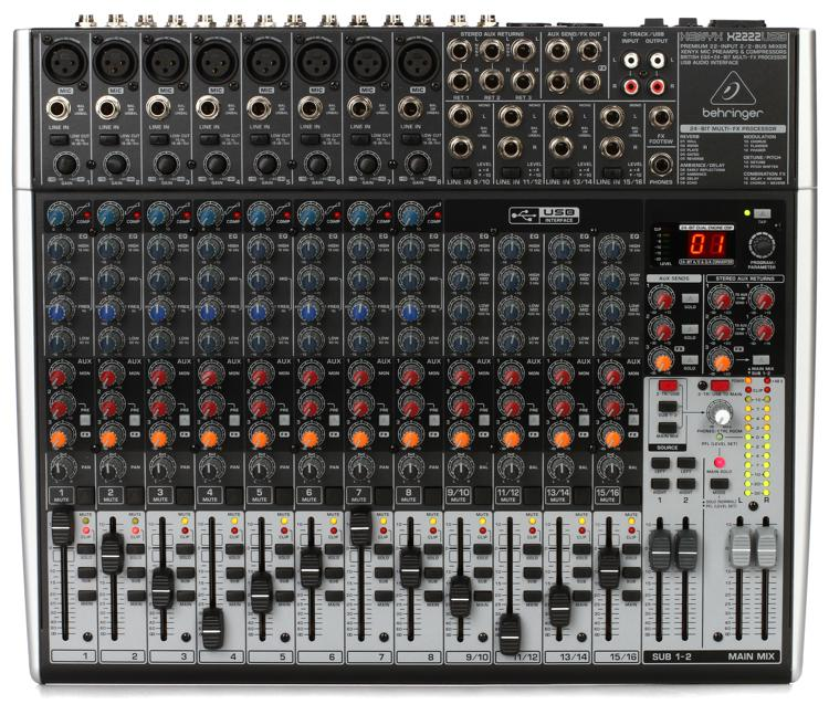 Behringer Xenyx X2222usb Sweetwater Com