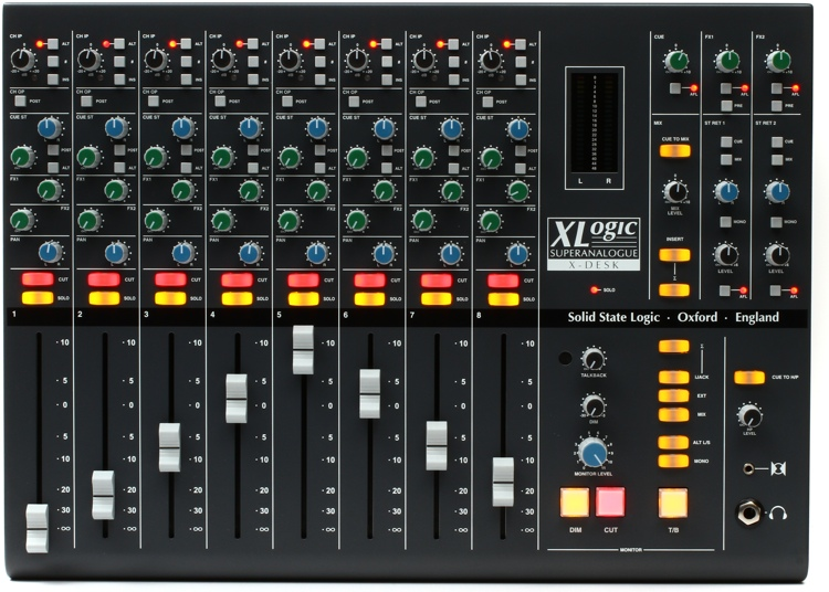 Solid State Logic X Desk Sweetwater Com