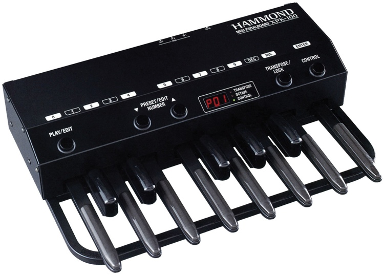 hammond xpk 100 13 note midi pedalboard. Black Bedroom Furniture Sets. Home Design Ideas