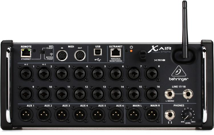 Behringer Xair18 For Mac