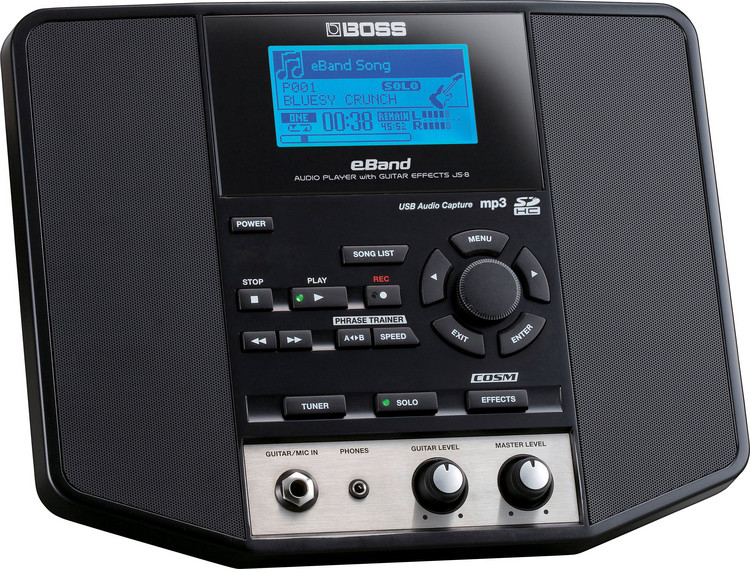Boss eband js-8 jam station complete with box and instruction.
