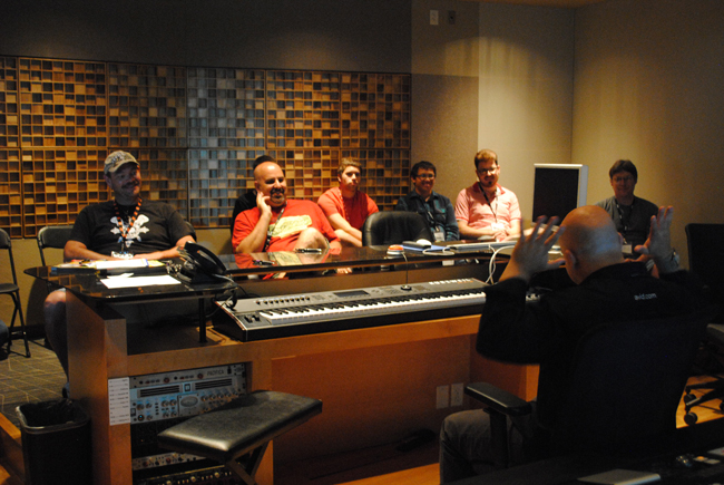 GearFest Guests Were Able To Learn About Recording And Mixing From Professional Engineers In Sweetwaters Studios